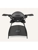 Weber Q 2400 elettrico con stand colore grigio scuro