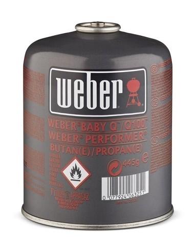 CARTUCCIA DI GAS WEBER (445 G)