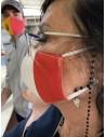 Mascherine di Protezione M-L 10PZ in Tessuto Acrilico Lavabile